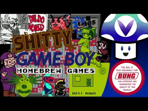 [Vinesauce] Vinny - Shitty Game Boy Homebrew Games