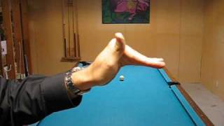 How To Play Pool: Open Hand Bridge for Draw & Follow