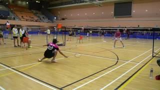 20170425 羽毛球團體精英賽 女子組 拔萃女書院vs福