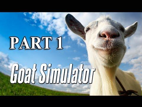 Goat Simulator Gameplay Walkthrough Part 1 - Goat Life (PC 1080p Playthrough)