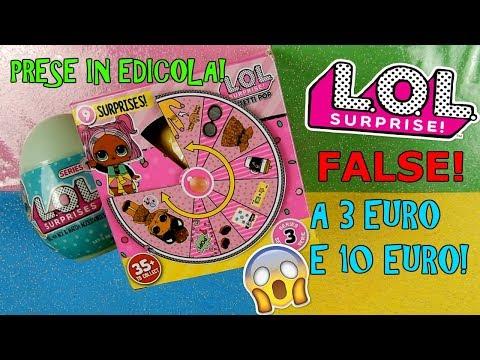 APRO LOL SURPRISE PRESE IN EDICOLA! A 3 EURO E 10 EURO! COME SARANNO Iolanda Sweets