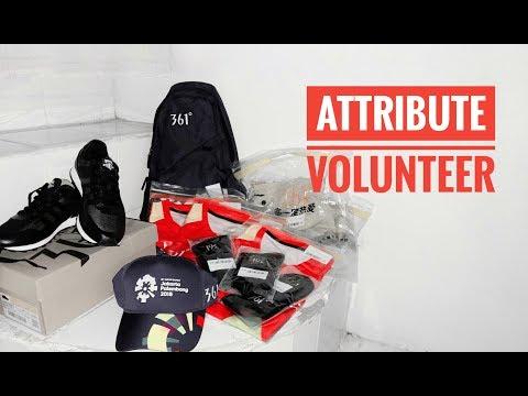 Attribute Volunteer || Asian Games 2018
