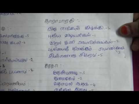 Tnpsc Tamil Shortcuts ( கவிஞர்களின் நூல்கள்-2 )