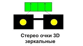 Стерео очки 3D зеркальные ( своими руками)(, 2015-02-21T20:42:29.000Z)