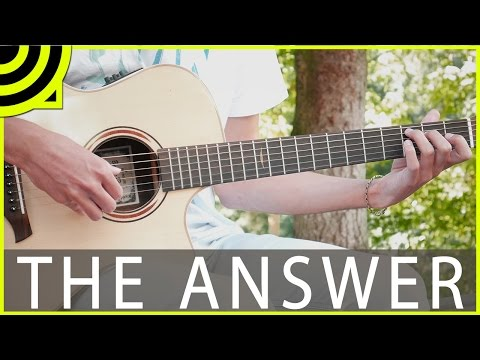 The Answer - Kodaline (Fingerstyle Guitar Cover by Albert Gyorfi) [+TABS]