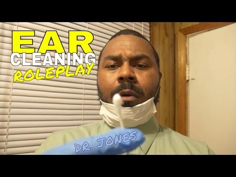 [ASMR] Ear Cleaning Role Play DR JONES Ear Wax Removal & Ear Cleaning Sounds (Binaural)(Ear to Ear)