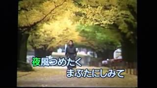 説明-今日は、往年の名曲、西田佐知子の「女の意地」を唄ってみました...