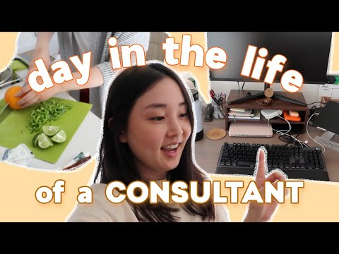 A Day in My Life as a Consultant   Working Out, Cooking, and Hanging With Friends