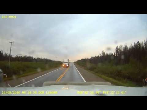 Quebec Route 167nb - KM 194 to KM 230 (Chibougamau)