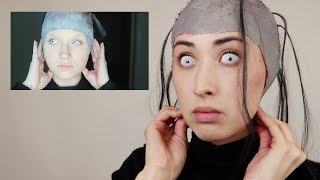 I Tried Following a GLAM & GORE SFX Makeup Tutorial