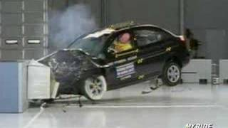 Crash Test 2007 Hyundai Accent Kia Rio