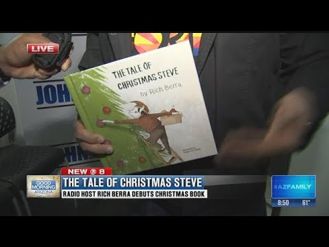 Nationally syndicated radio host Rich Berra debuts new holiday children's  book