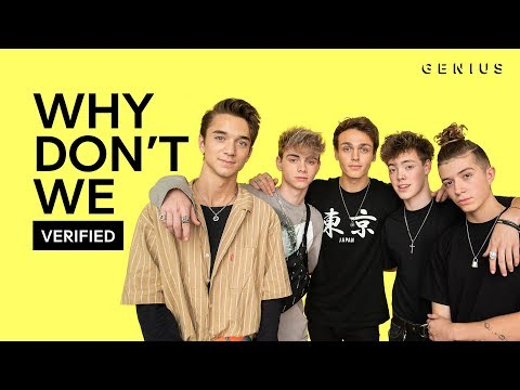 """Why Don't We """"8 Letters"""" Official Lyrics & Meaning   Verified"""