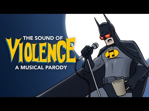 The Sound of Violence - A Sound of Silence Batman PARODY