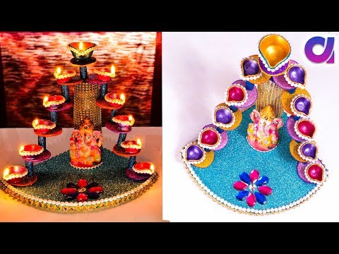 Diya Stand From Plastic Bottle Candle Stand Best Out Of Waste Artkala Youtube