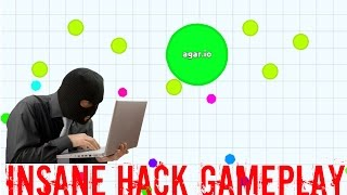 AGARIO INSANE HACK GAMEPLAY #1 - 100 Bots/Minions Hack