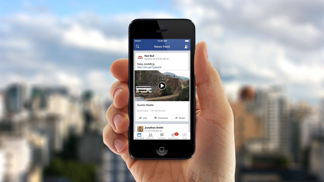 របៀបបិទ សំលេងវីឌីអូ Autoplay ក្នុង Facebook App ទូរសព្ទ័
