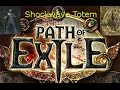 [PoE] SHOCKWAVE TOTEM Templar ~build and gear~ ultra tanky - Path of Exile 1.3