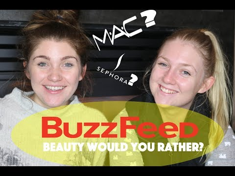 Would You Rather? Buzzfeed's HARDEST Beauty & Makeup Edition