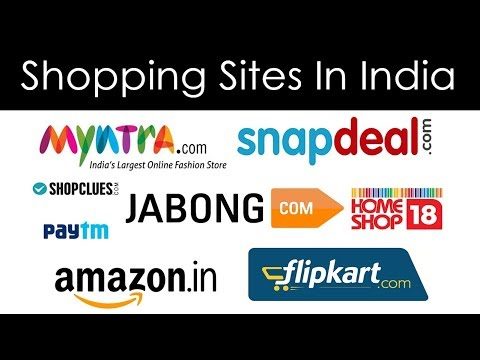 Top 16 Best Shopping Sites in India - 2018