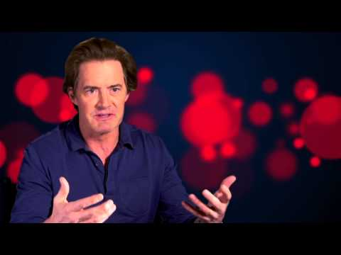 "Pixar's Inside Out: Kyle Maclachlan ""Dad"" Movie Interview"