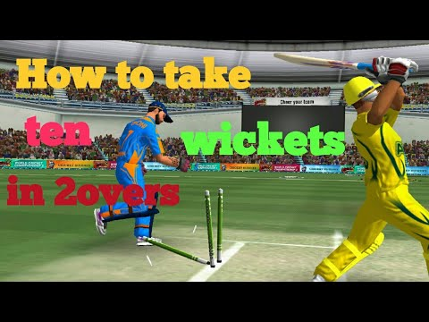 How to take ten wickets in 2overs (Wcc2)