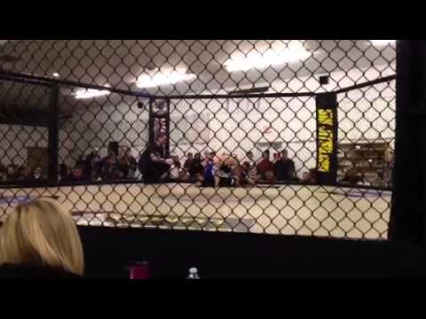 Ryan Cody-Berry vs Mike Barrett MMA fight.