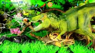 Яйця Тиранозавра | #2 серія. Я ПОМЩУСЯ ТОБІ! Динозаври для дітей. Театр іграшок
