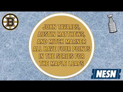 Watch Game 5 Of Bruins - Maple Leafs 7 ET Tonight On NESN