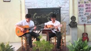 Chương trình Thi Guitar Hk II - 2014/15