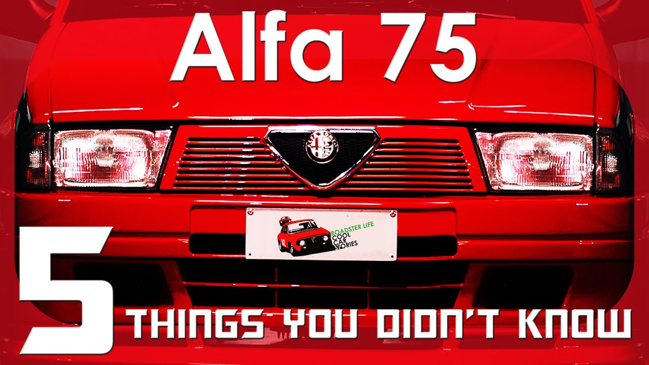 Five Things You Didn't Know About The Alfa 75