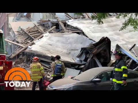 3-Story Building Collapses In New York City | TODAY