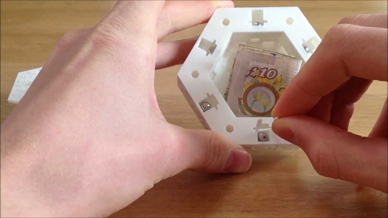 3d printed centrifugal puzzle box adding a new spin to puzzle