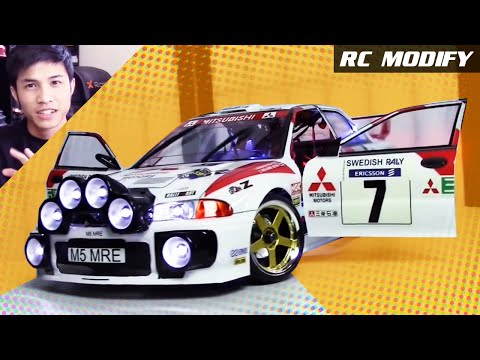 RC Modify 15 | Mitsubishi Evolution III EVO 3 WRC Rally [English]