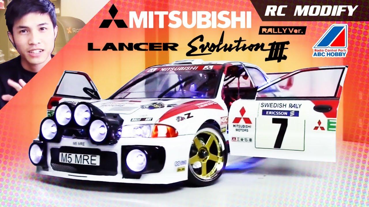 Rc Modify 15 Mitsubishi Evolution Iii Evo 3 Wrc Rally