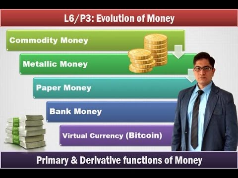 L3/P7: Money- Evolution, Types and functions