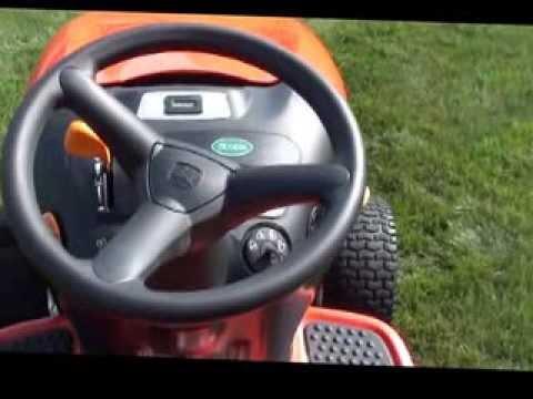 Scotts Mower 42 inch, 17HP Made by JohnDeere 279 2 Hours  YouTube