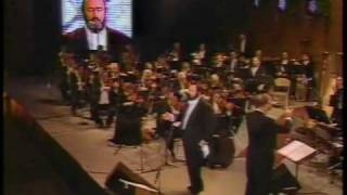 e lucevan le stelle luciano pavarotti in central park 1993