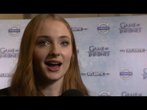Sophie Turner (Sansa Stark) Interview - Game of Thrones Season 4 Premiere
