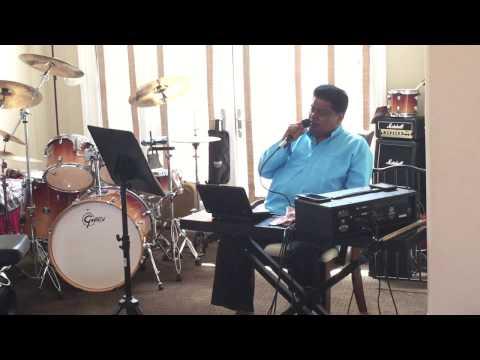 Omkara Nadanu Karaoke cover by Vishnu