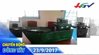 Học sinh lớp 8 chế tạo máy bơm nước tự động cho ghe tàu   CHUYỂN ĐỘNG ĐÔNG TÂY - 23/9/2017