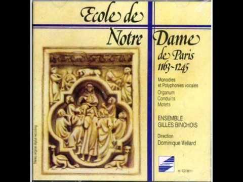 Ecole de Notre Dame de Paris - Anon. Organum : Benedicamus Domino