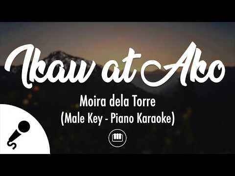 Ikaw At Ako - Moira dela Torre (Male Key - Piano Karaoke)