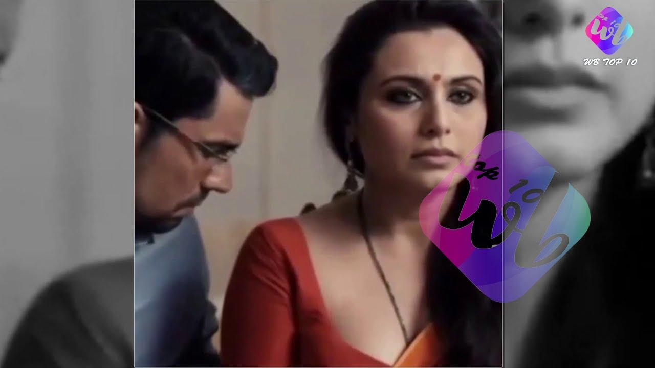 Question Rani mukherjee hot transparent saree