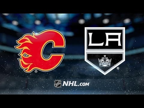 Calgary Flames Vs. Los Angeles Kings | NHL Game Recap | October 11, 2017 | HD