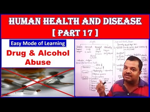 Drug and Alcohol Abuse for NEET | Human Health and Disease | NEET Bio | Part – 17