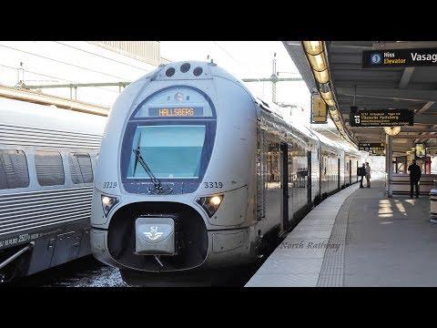 [SJ] Stockholm - Örebro by Train / スウェーデン 鉄道の旅
