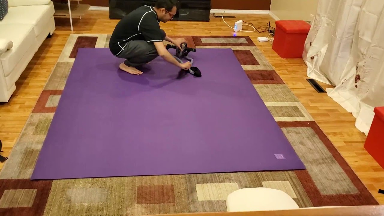 Gxmmat Extra Large Exercise Mat 6 X8 X7mm For Home Gym Flooring
