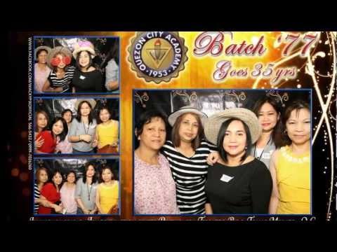 Quezon City Academy batch '77 clowns.wmv