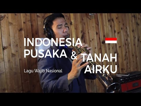 Indonesia Pusaka & Tanah Airku - Medley (Saxophone Cover By Desmond Amos)